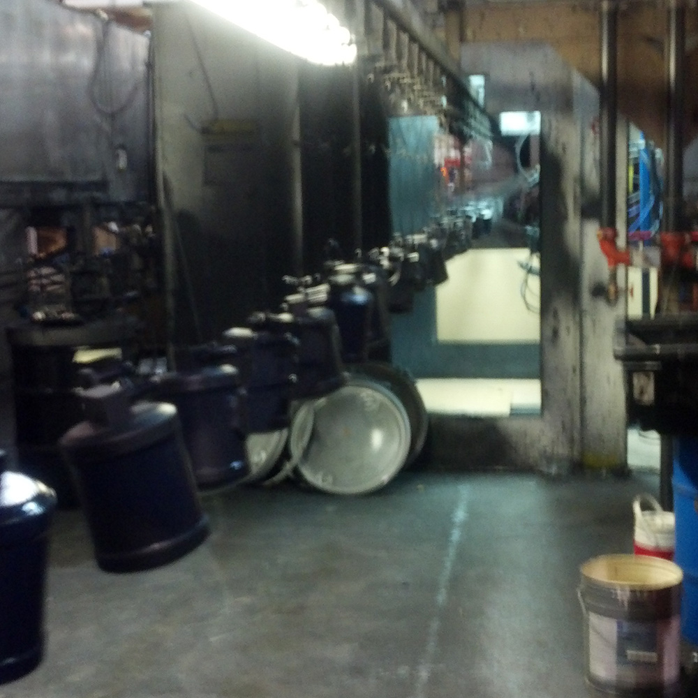 Parker-production-line